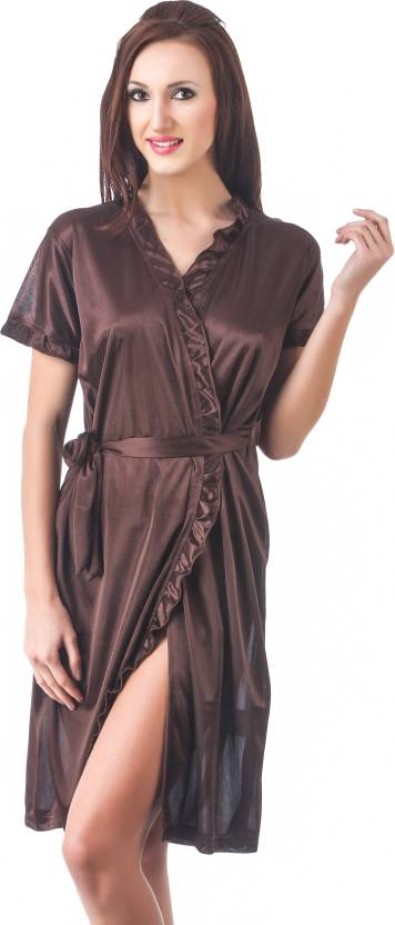 Fasense Women s Nighty - Buy Chocolate Brown Fasense Women s Nighty ... 866bb916f