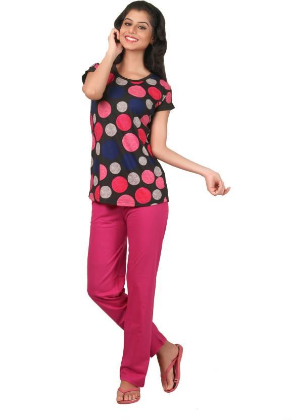 Just4You Women s Printed Multicolor Top   Pyjama Set Price in India - Buy  Just4You Women s Printed Multicolor Top   Pyjama Set at Flipkart.com Top    Pyjama ... fc526eb69