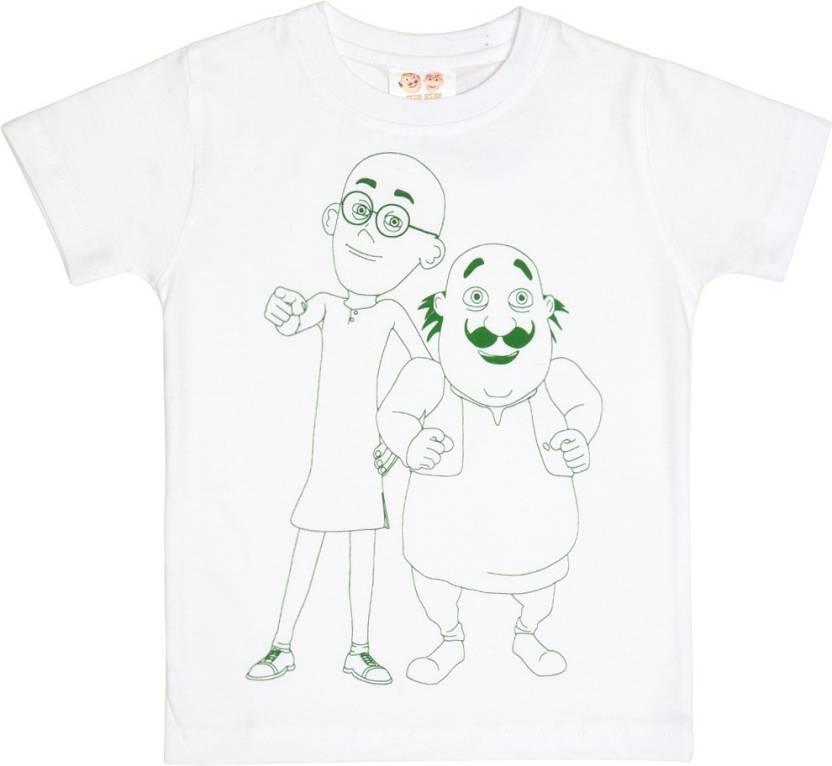 Motu Patlu Kids Nightwear Boys Printed Cotton Price In India Buy