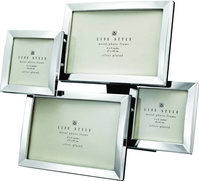 Momentz Silver-plated Photo Frame Price in India - Buy Momentz ...
