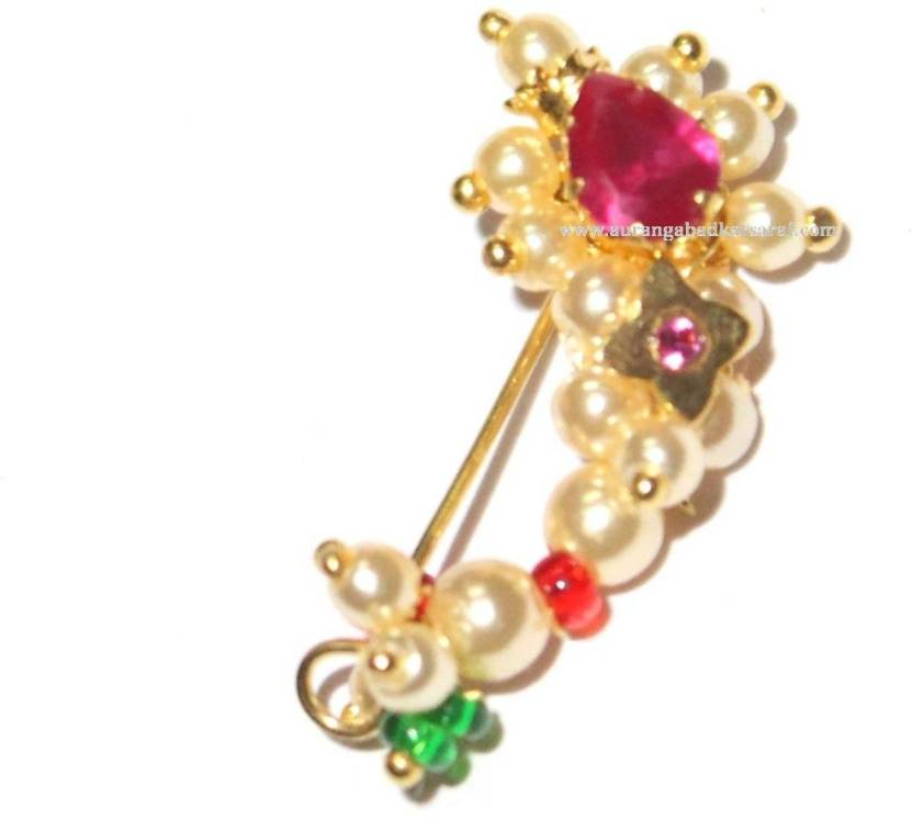 Lovely Buy Gold Nose Ring Online India Jewellry S Website