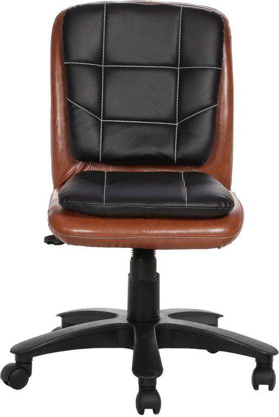 VJ Interior Leatherette Office Arm Chair Multicolor