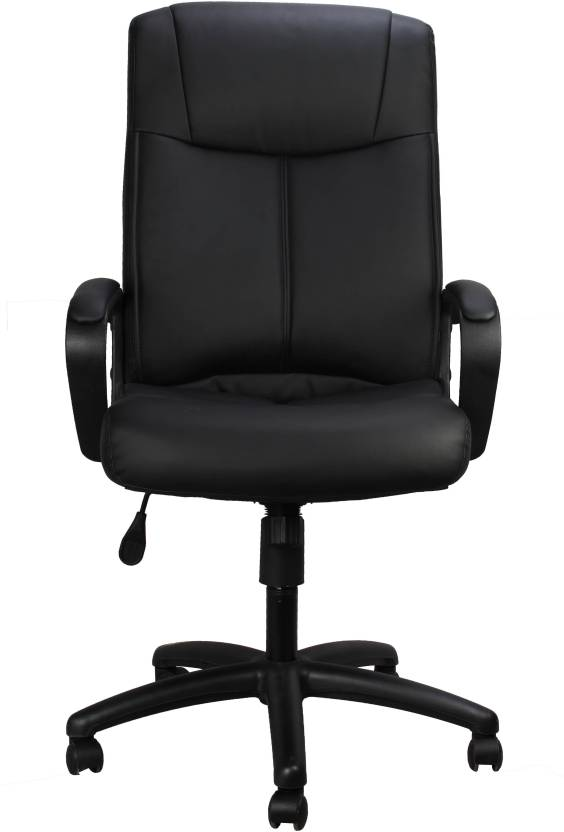 Ringabell High Back Revolving Chair Bonded Leather Office Arm Chair
