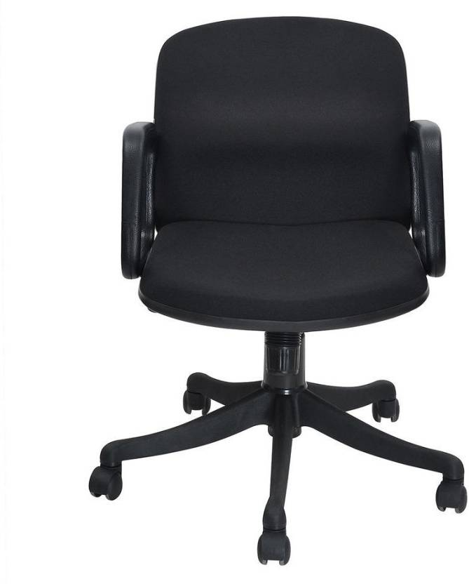 Nill Lead Fabric Office Arm Chair