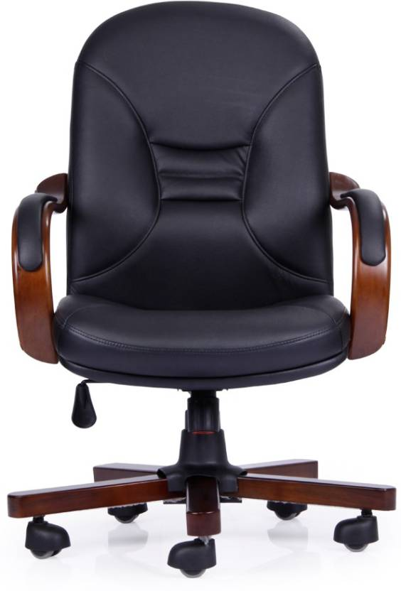 Durian Leather Office Arm Chair Price In India Buy Durian Leather
