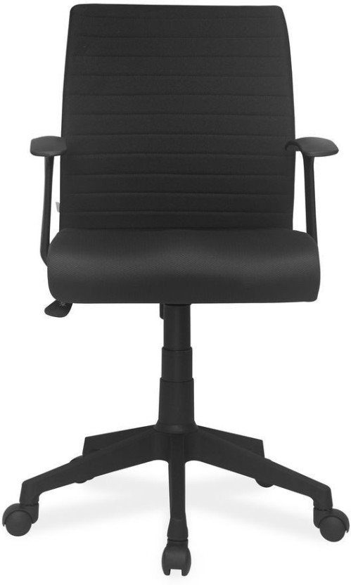 Fabric office chairs with arms Flash Furniture Nilkamal Thames Fabric Office Arm Chair black Flipkart Nilkamal Thames Fabric Office Arm Chair Price In India Buy