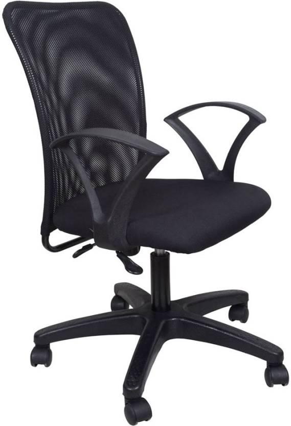 Hetal Enterprises Fabric Office Arm Chair Price In India Buy Hetal