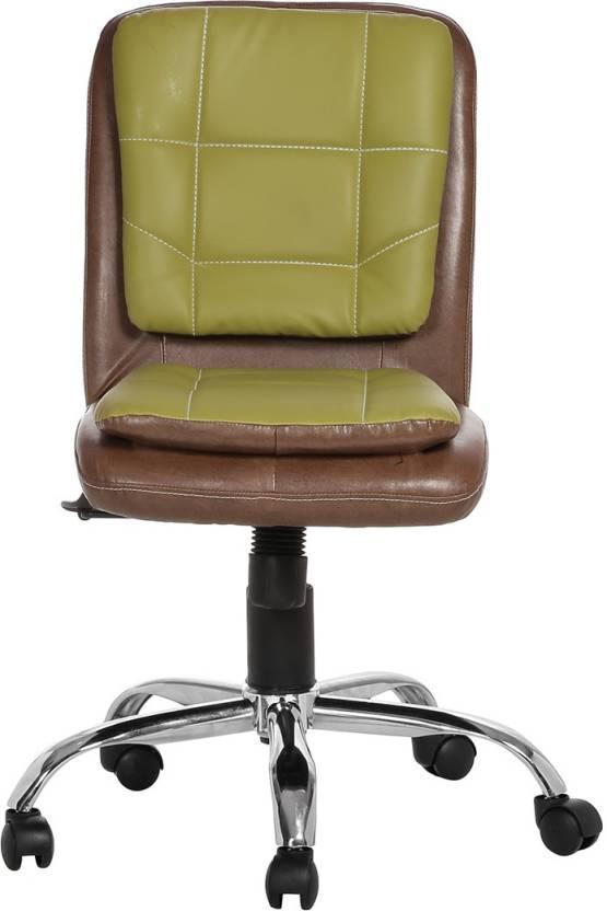 VJ Interior Leatherette Office Arm Chair Multicolor