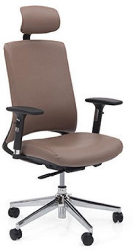 Urban Ladder Sullivan 7 Axis Leatherette Office Arm Chair  sc 1 st  Flipkart & Urban Ladder Sullivan 7 Axis Leatherette Office Arm Chair Price in ...