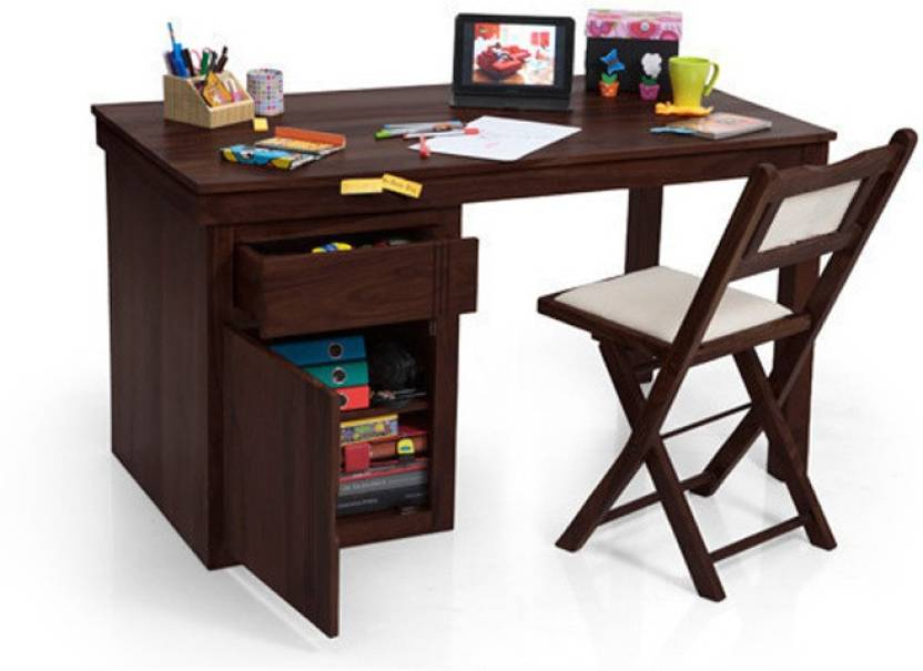 33e741b94 Urban Ladder Bradbury Solid Wood Study Table Price in India - Buy ...