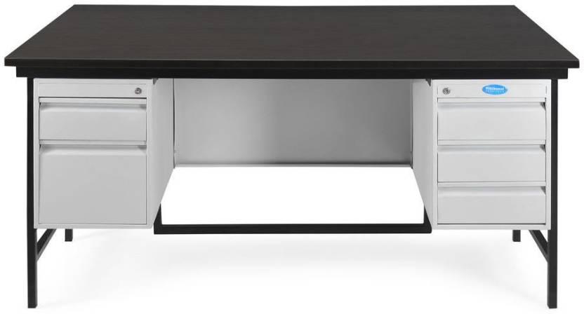 Nilkamal Zurina Metal Office Table Price In India Buy Nilkamal