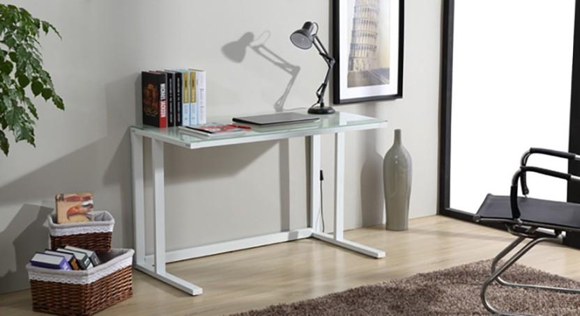 Urban Ladder Kafka Compact Glass Study Table