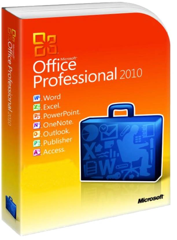 Microsoft Office 2010 Professional 64 Bit