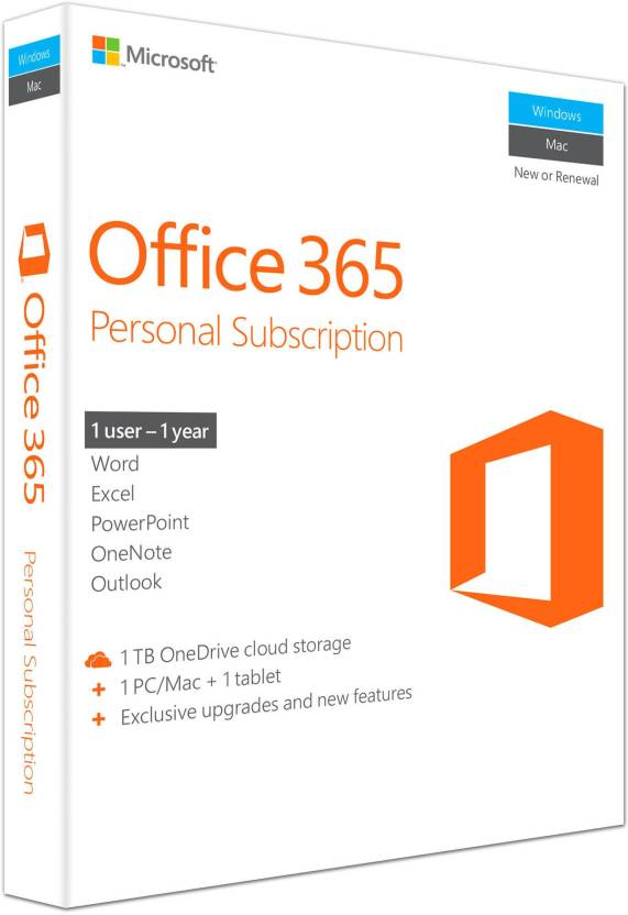 Upto 80% Off on Electronic Accessories | Microsoft Office 365 Personal By Flipkart @ Rs.2,499