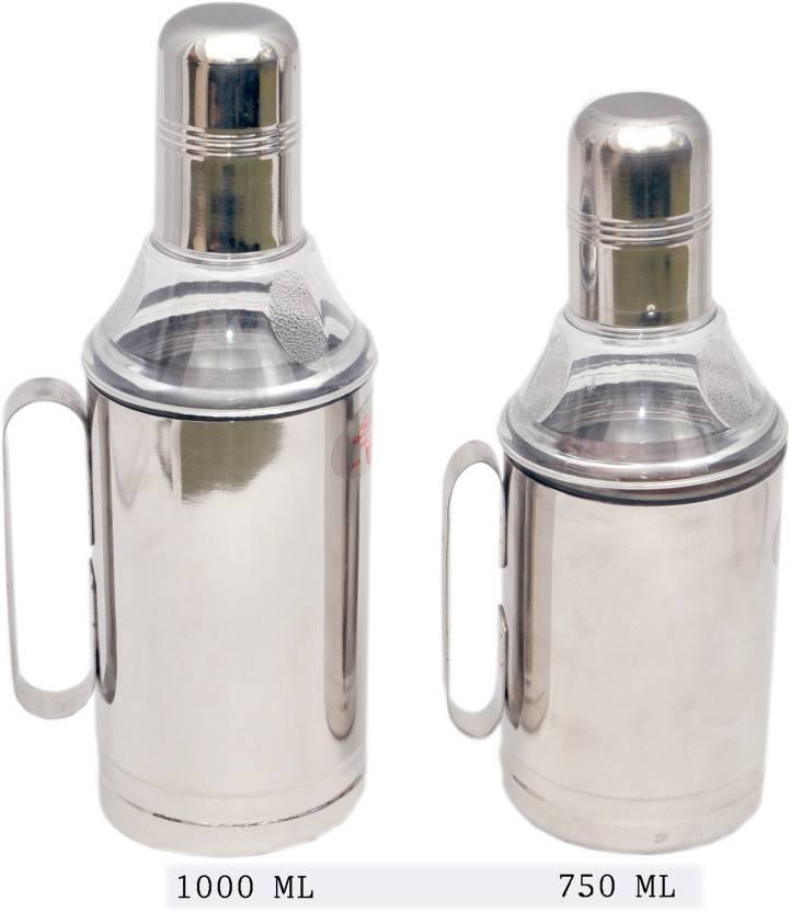 Rituraj 750 ml, 1000 ml Cooking Oil Dispenser Set Pack of 2