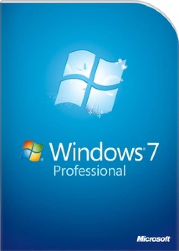 Microsoft Windows 7 Professional (Full Pack) Windows 7 Professional 32/64 bit