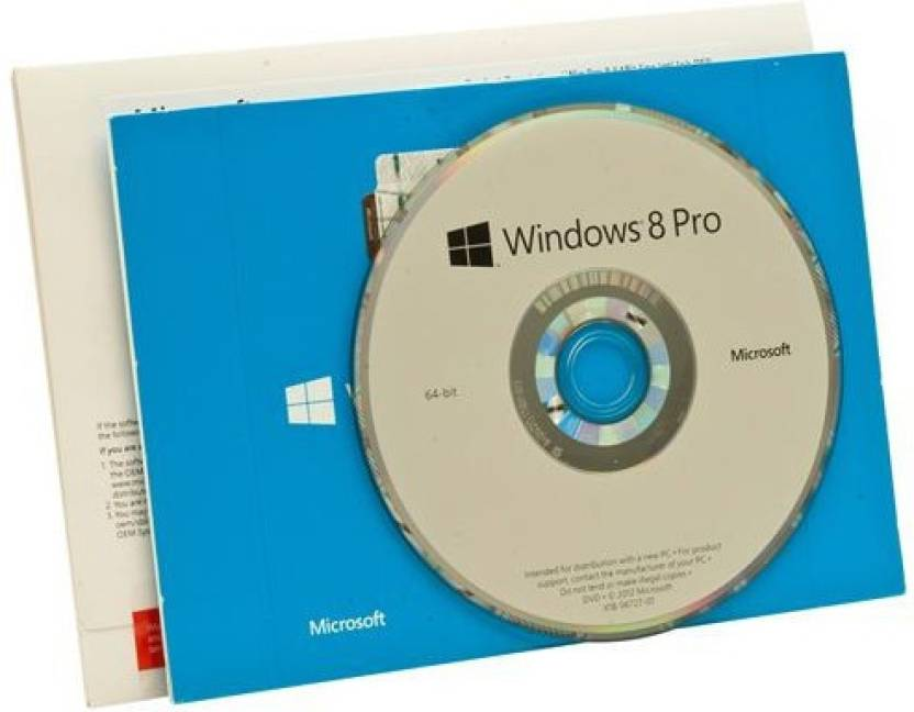 Microsoft Windows 8 Professional 32/64 bit