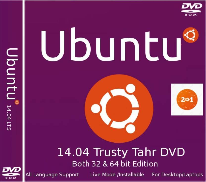 Ubuntu 14 04 Trusty Tahr DVD 32 bit & 64 bit