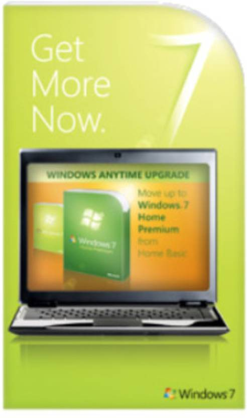 Microsoft Windows Anytime Upgrade Win 7 Home Basic to Win 7 Home Premium 32/64 bit