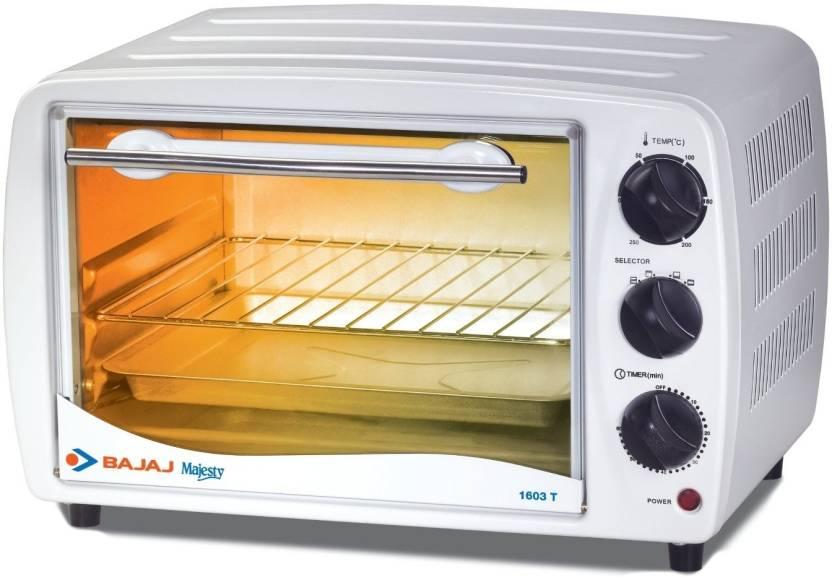 Bajaj 16 Litre Majesty Otg 1603t Oven Toaster Grill Otg