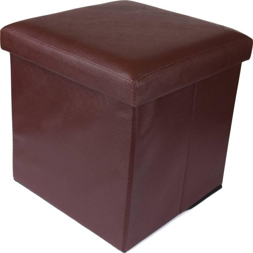 buy online e221f b60c5 Uberlyfe Leatherette Cube Ottoman