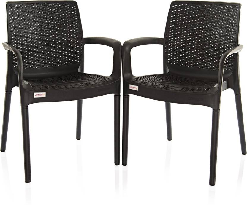 Varmora Designer Esquire Set Of 2 Plastic Cafeteria Chair Price In