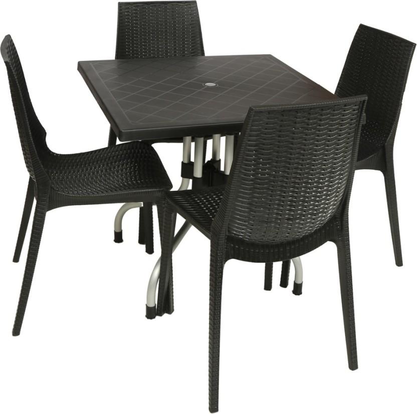 Supreme Wenge Plastic Table u0026 Chair Set  sc 1 st  Flipkart & Supreme Wenge Plastic Table u0026 Chair Set Price in India - Buy Supreme ...
