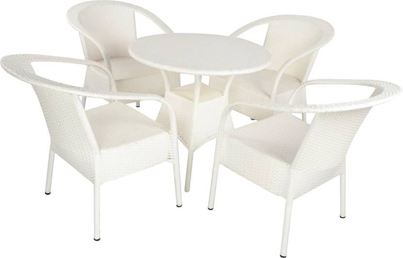 mavi white cane table chair set price in india buy mavi white
