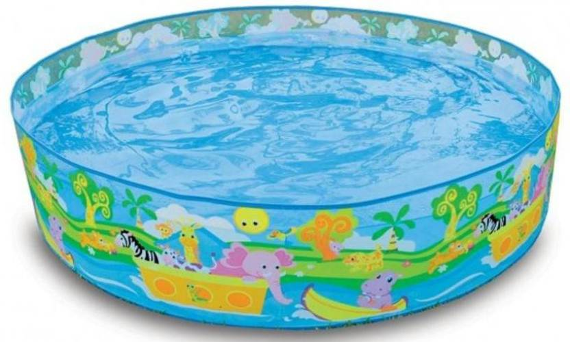 Intex Snapset 4 Feet Kids Water Pool Bath Tub Swimming Pool Snapset 4 Feet Kids Water Pool