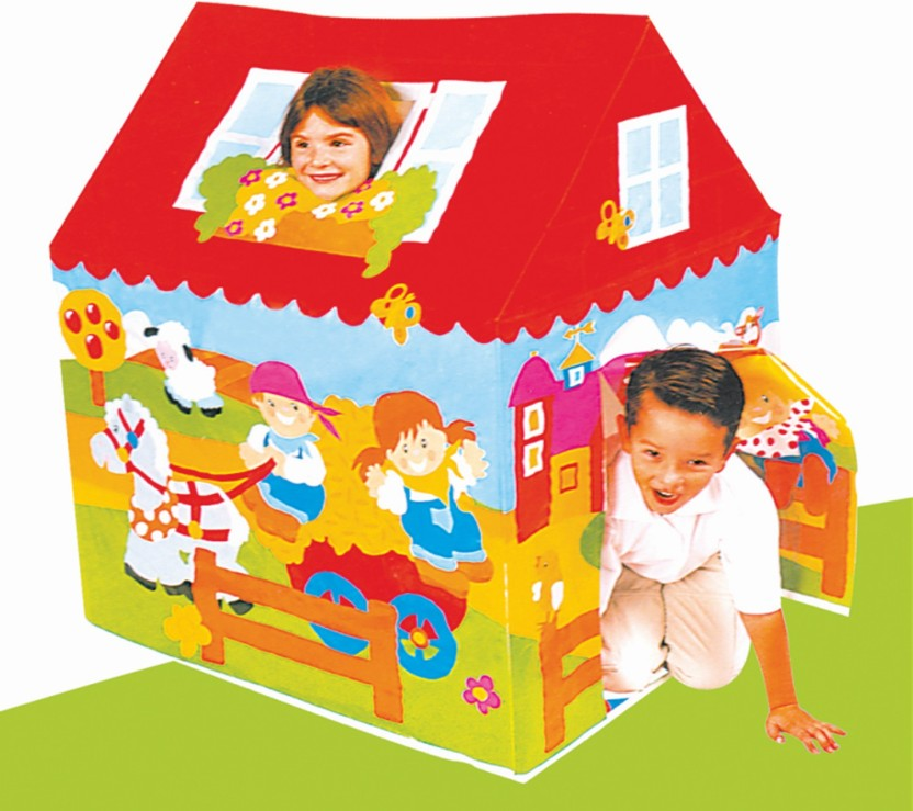 NHR NHR Kids Tent House with Cricket Kit  sc 1 st  Flipkart & NHR NHR Kids Tent House with Cricket Kit - NHR Kids Tent House ...