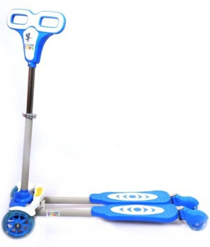 Y Fliker Scooter >> Deep Sales Four Wheel Y Fliker Folding Skate Scooter