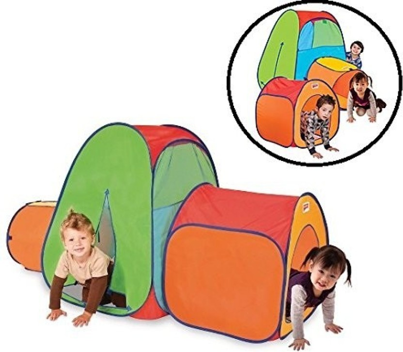 Pigloo Pop Up Tent u0026 Tunnel Play Set for Kids (Multicolor)  sc 1 st  Flipkart & Pigloo Pop Up Tent u0026 Tunnel Play Set for Kids - Pop Up Tent u0026 Tunnel ...