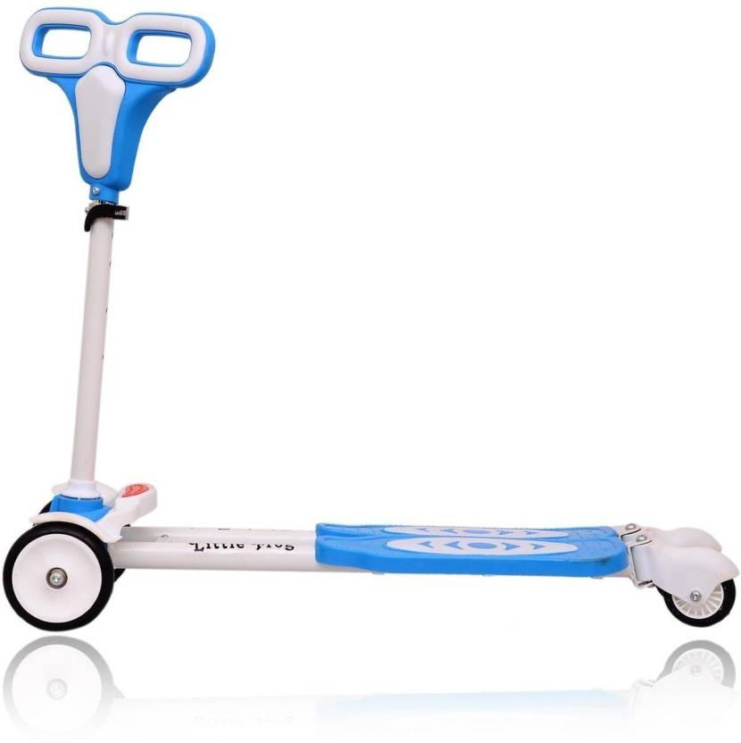 Y Fliker Scooter >> Blossoms Four Wheel Y Fliker Folding Skate Scooter
