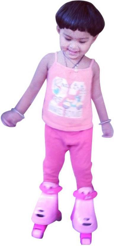 Fisher-Price Grow with Me Inline Skates - Barbie