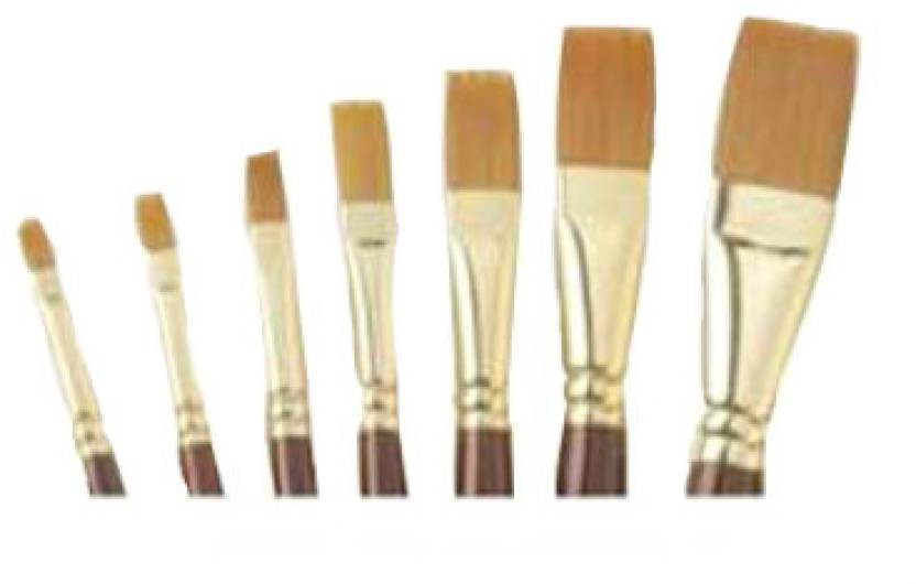 Camlin Series 67 Flat Paint Brush