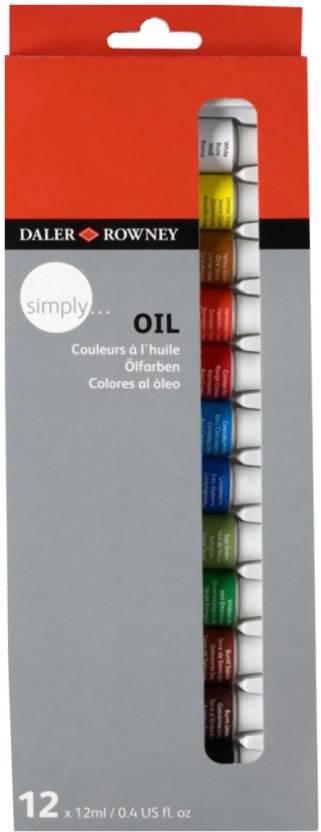 Daler-Rowney Simply Oil Color Tube