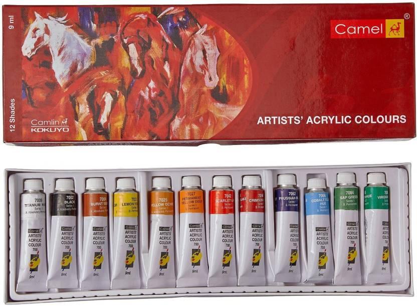 71b42113b5cd Camlin Artists Acrylic Colours (Set of 12