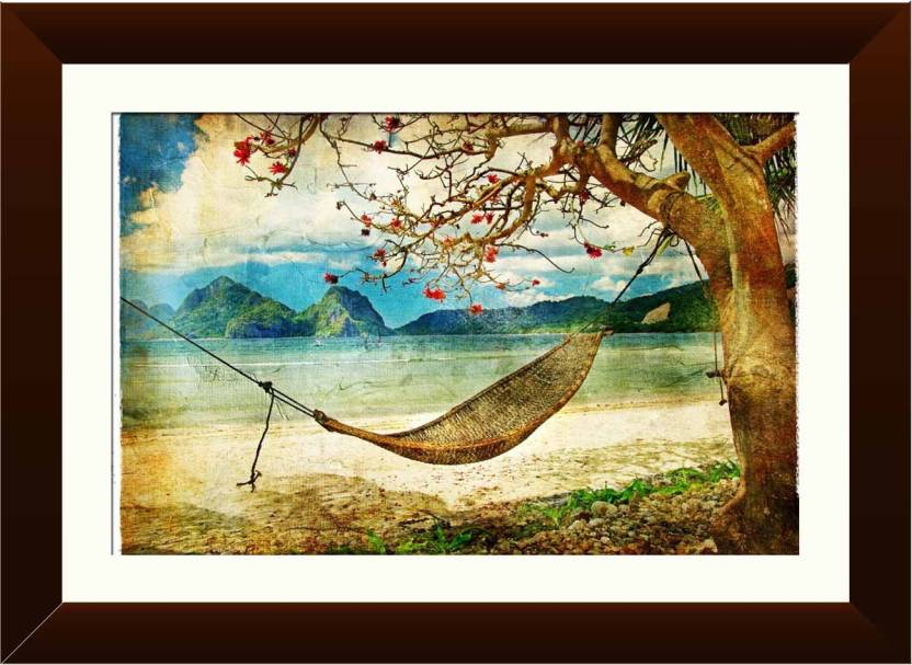 Wallmantra Rela Inch X Ed Life Wall Hanging Canvas Painting Price In