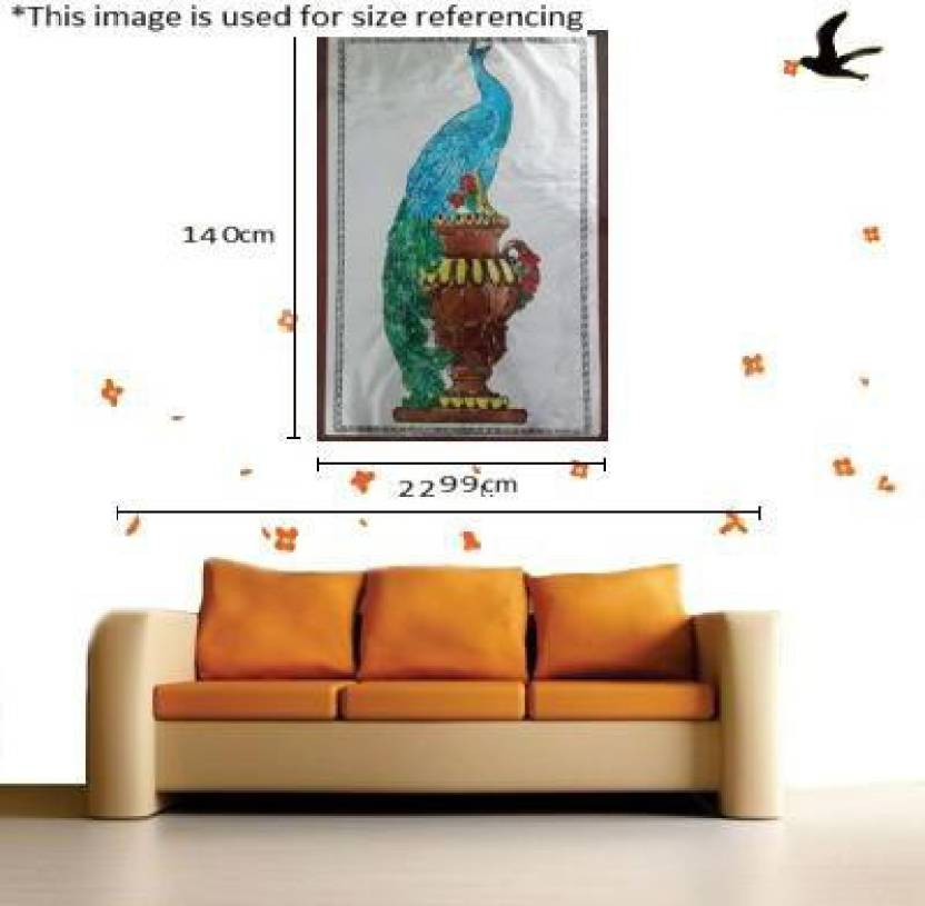HMB OHP Sheet Glass Painted Canvas Painting Price in India - Buy HMB