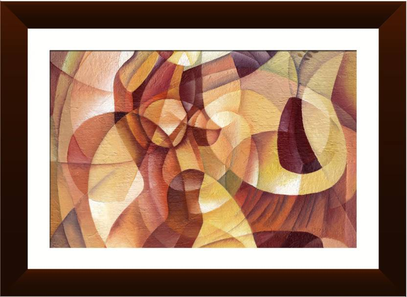 Wallmantra Abstract Modern Wall Hanging Canvas Painting Price In