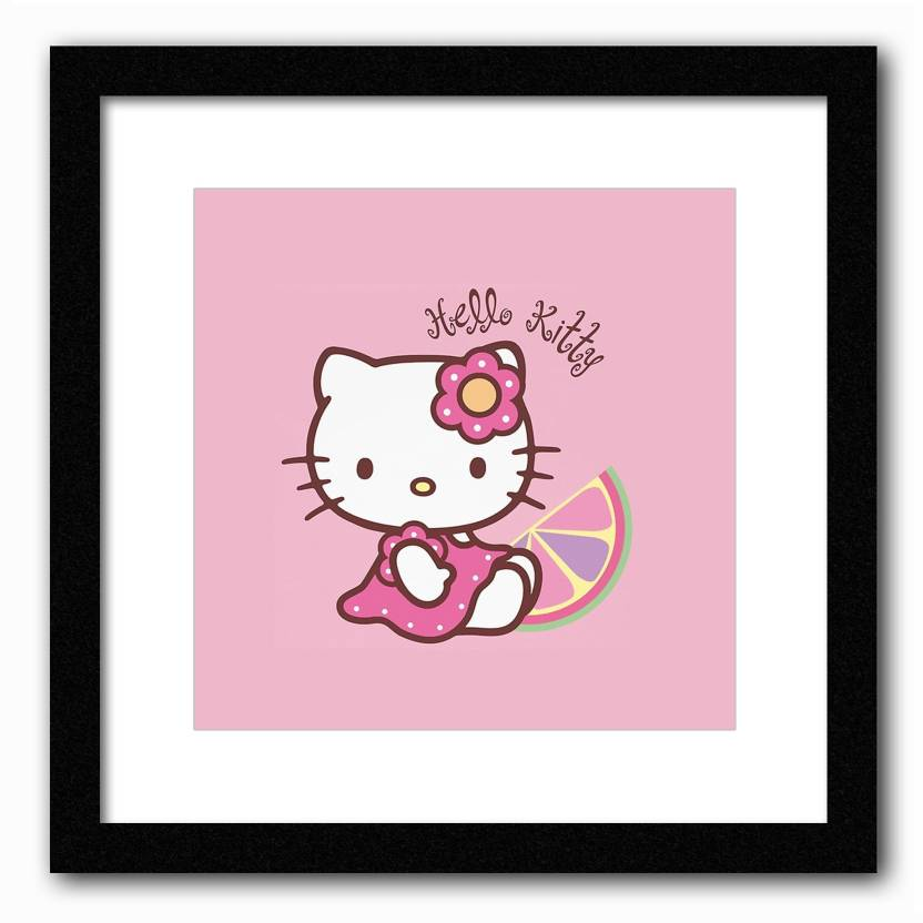 Hello Kitty Paper Print Abstract Posters In India Buy Art Film