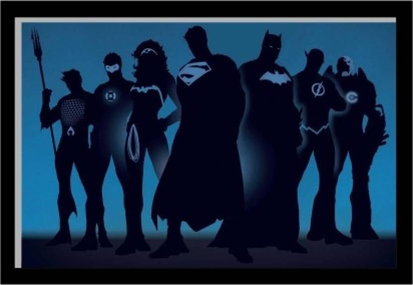Oobinno Superheroes Team Special effects with UV Digital