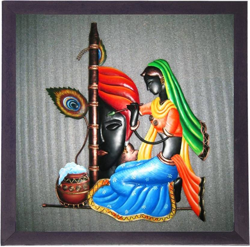 Lila Paintings Radha Krishna Canvas Painting