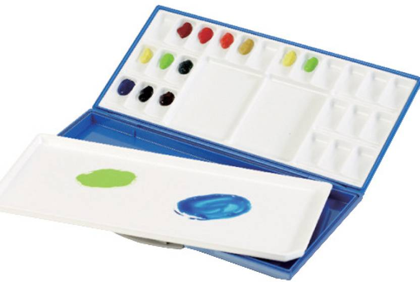 Mijello Synthetic Resin 24 Paint Wells Palette