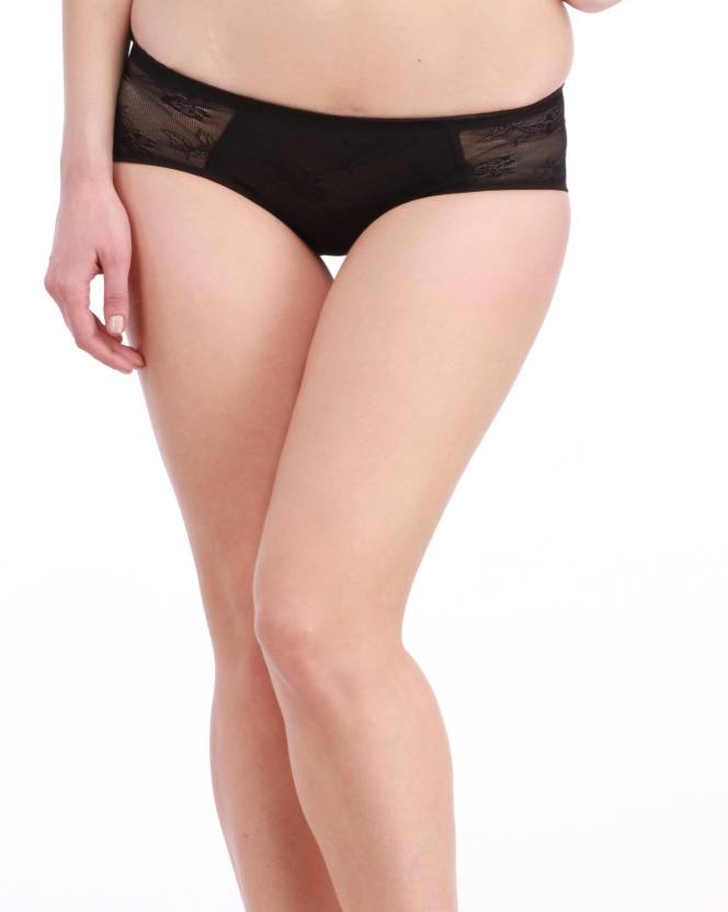 2c29e1cf6d6 Glus Butt Enhance Women s Bikini Black Panty - Buy Black Glus Butt ...