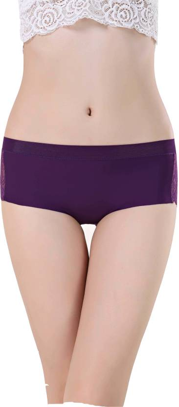 f5e3b99d3419 Aarti Apparels Women's Thong Purple Panty - Buy Purple Aarti ...