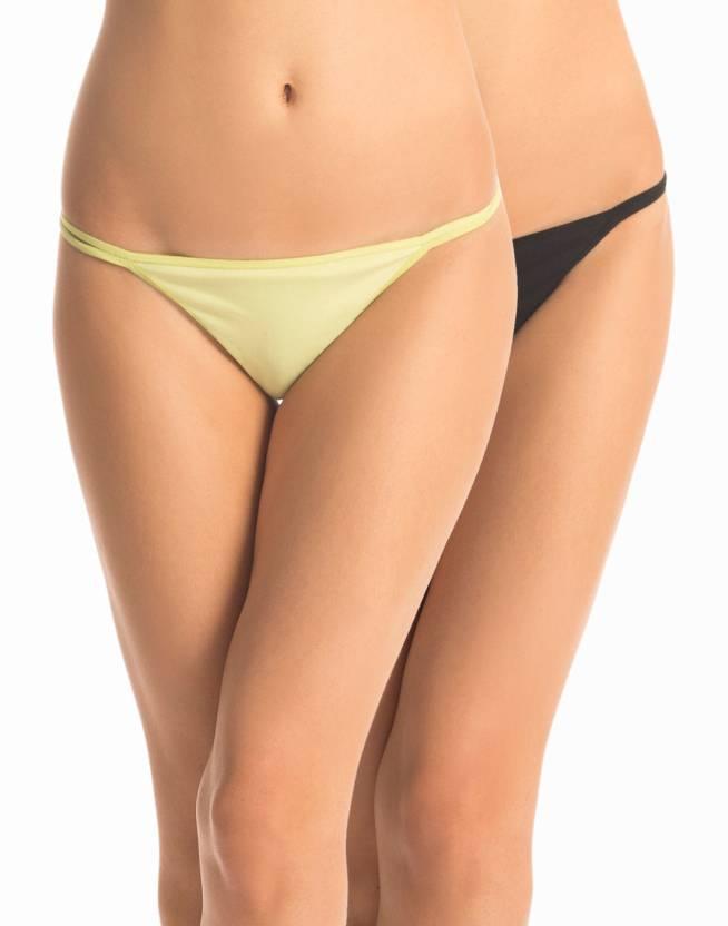 13aa6e827685f7 PrettySecrets Women s Thong Multicolor Panty - Buy Black