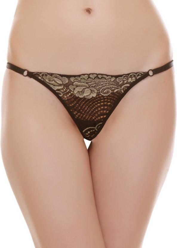 1e4c8abd0 Urbaano Women s Thong Black Panty - Buy Black Urbaano Women s Thong ...