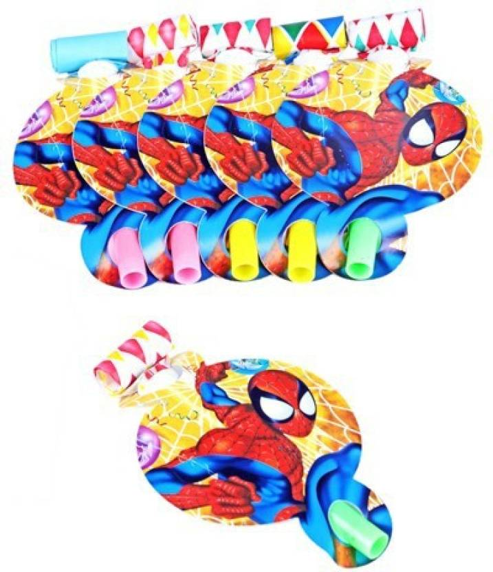 Funcart Spiderman Party Blowouts