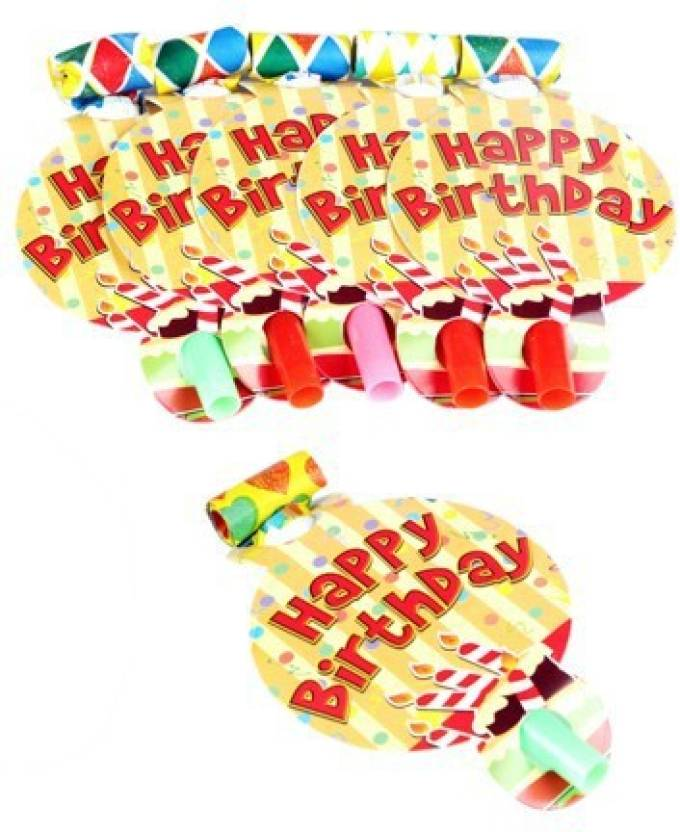 Funcart Stripe birthday Party Blowouts